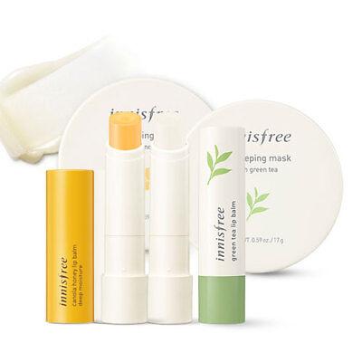 Care Lip Balm ([Innisfree] Lip Care ( Canola Honey Lip Balm / Green Tea Lip Balm / Mask ))