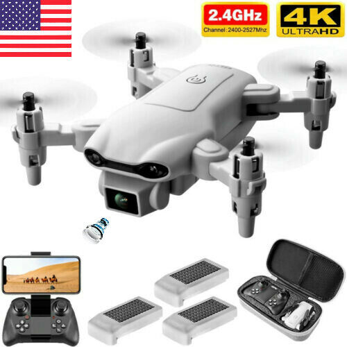 New RC Drone 4k HD Wide Angle Camera WIFI FPV Drone Dual Camera Quadcopter