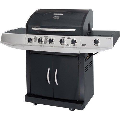 5 burner gas grill ebay. Black Bedroom Furniture Sets. Home Design Ideas