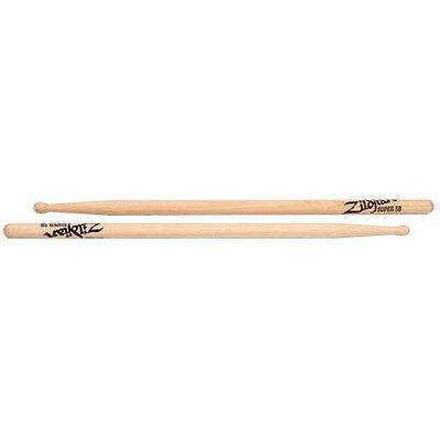 Zildjian S5BWN Super 5B Wood Natural Drumsticks ()