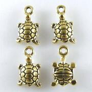 Gold Turtle Charm