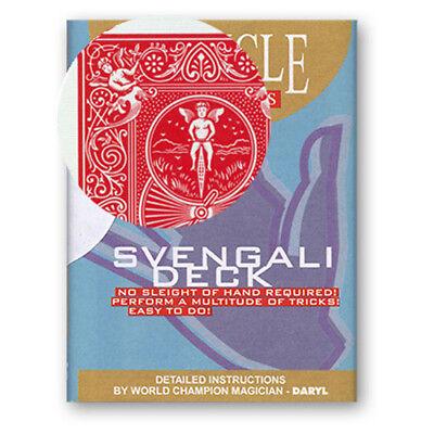 116301 BICYCLE SVENGALI DECK, Kartentricks leicht gemacht, Trickspiel,