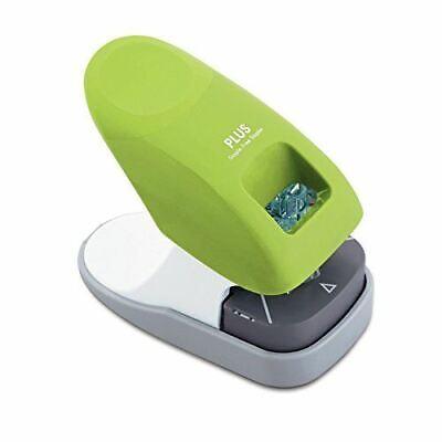 Plus Paper Clinch Desktop Staple-free Stapler Green 31261