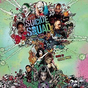 Suicide Squad [Original Motion Picture Score] by Steven Price (CD, Aug-2016,...