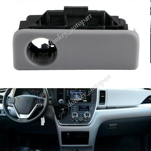 Front Glove Box Latch Handle For 2004-2010 Toyota Sienna Stone Gray 55506-AE010