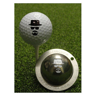 Tin Cup Golf Ball Custom Marker Alignment Tool - Incognito (Heisenberg)