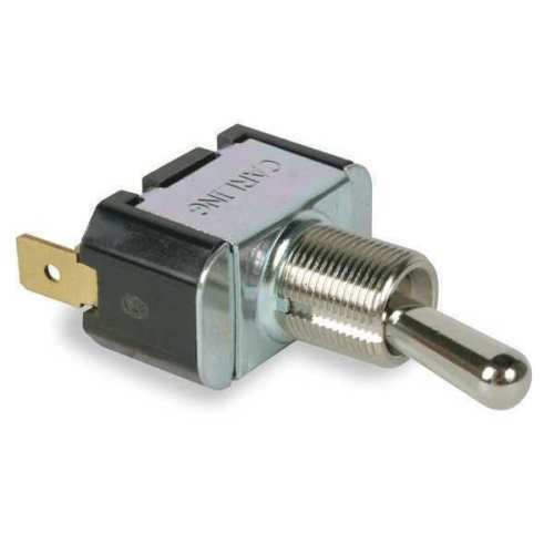 CARLING TECHNOLOGIES Toggle Switch,SPST,2 Conn.,On/Off includes Nut 16-3P Ring
