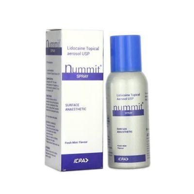5 x Nummit Surface Anesthetic Lidocaine Topical Aerosol USP 15% Spray -100gm segunda mano  Embacar hacia Argentina
