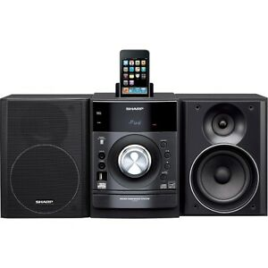 Sharp Audio Mini-System with iPod Dock Station