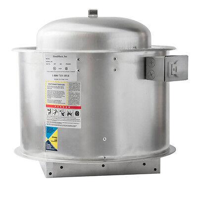 Hoodmart 10d Direct Drive Type 1 Commercial Kitchen Exhaust Fan - For 4ft Hoods