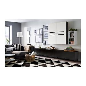 IKEA rug black and white Ferntree Gully Knox Area Preview