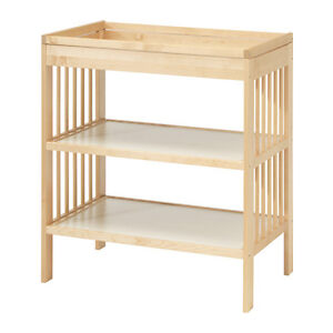 IKEA GULLIVER Changing table (Natural Colour)
