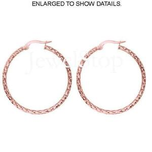 14k Gold Hoop Earrings 2
