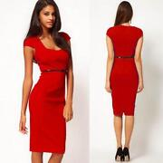 Red Rockabilly Dress