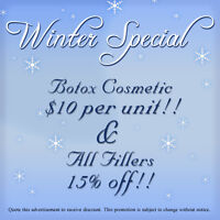 Winter Special on Cosmetic Treatments in Brantford