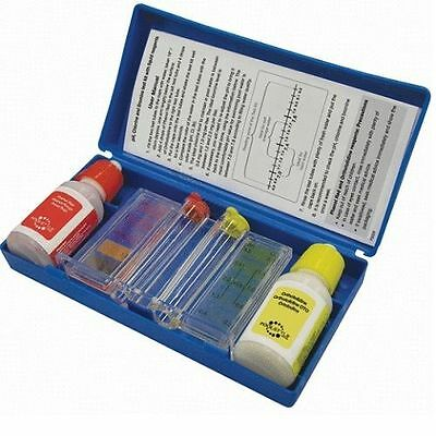 - Pool and Spa 2 Way Chlorine & pH Chemical Test Kit