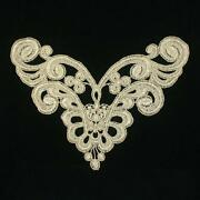 Gold Lace Applique