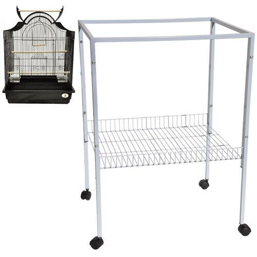 Es 8 Cage Stand 25x21x34 Bird Cages Toy Toys Parakeet Par...