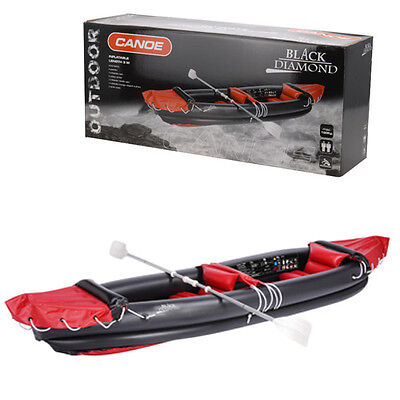 Black Diamond Canoe Set Paddling Lakes Rivers Comfort Holiday Summer Beach