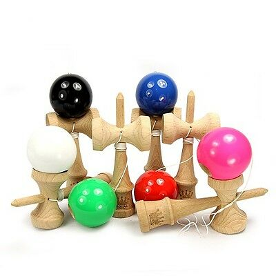1 Pcs Jumbo Kendama Japanese Traditional Game Educational Skillful Wooden RR