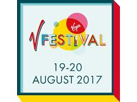 4 Day tickets for V festival