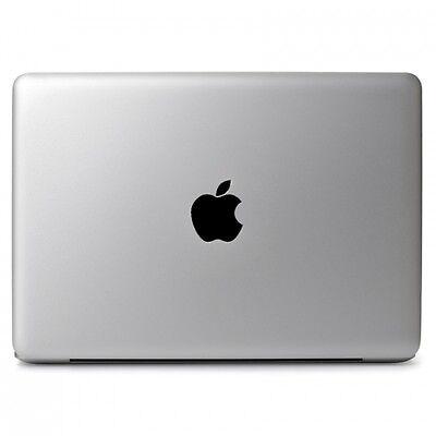 "Black Apple Vinyl Sticker Skin Decal for Macbook Air & Pro 11"" 13"" 15"" 17"""