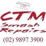 CTM Smash Repair, Pink Slip, Mechanic Granville, Parramatta Clyde Parramatta Area Preview