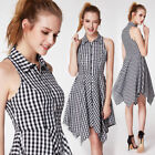 Plaid Dresses for Women with Pencil Skirt