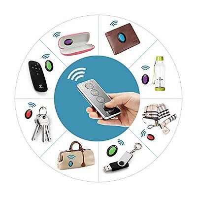 Remote Control Locator Key Chain Whistle Finder Universal TV Wireless Tracer New