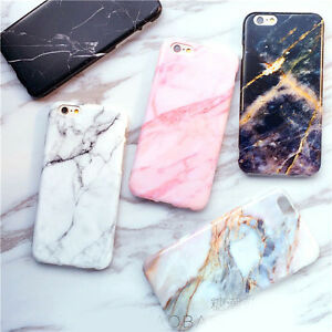 Stylish-Cool-Granite-Marble-Stone-Effect-Soft-Case-Cover-for-iPhone-6-6S-7-Plus