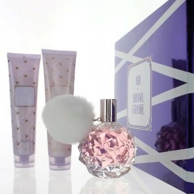Ari By Ariana Grande 3 Piece Gift Set   3 4 Oz Eau De Parfum Spray New Box Women