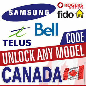 UNLOCK SAMSUNG LG HTC MOTO XPERIA IPHONE FROM SASKTEL BELL ROGER
