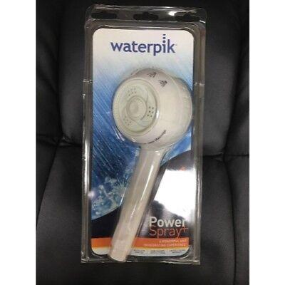 Waterpik SM-451T PowerSpray+ Original Shower Massage & Head, White