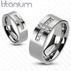 Men's Titanium 8 Ring Wedding & Anniversary Bands
