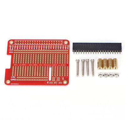 DIY Proto HAT Shield for Raspberry Pi 3 and Raspberry Pi 2 Model B / B+ / A+ GX