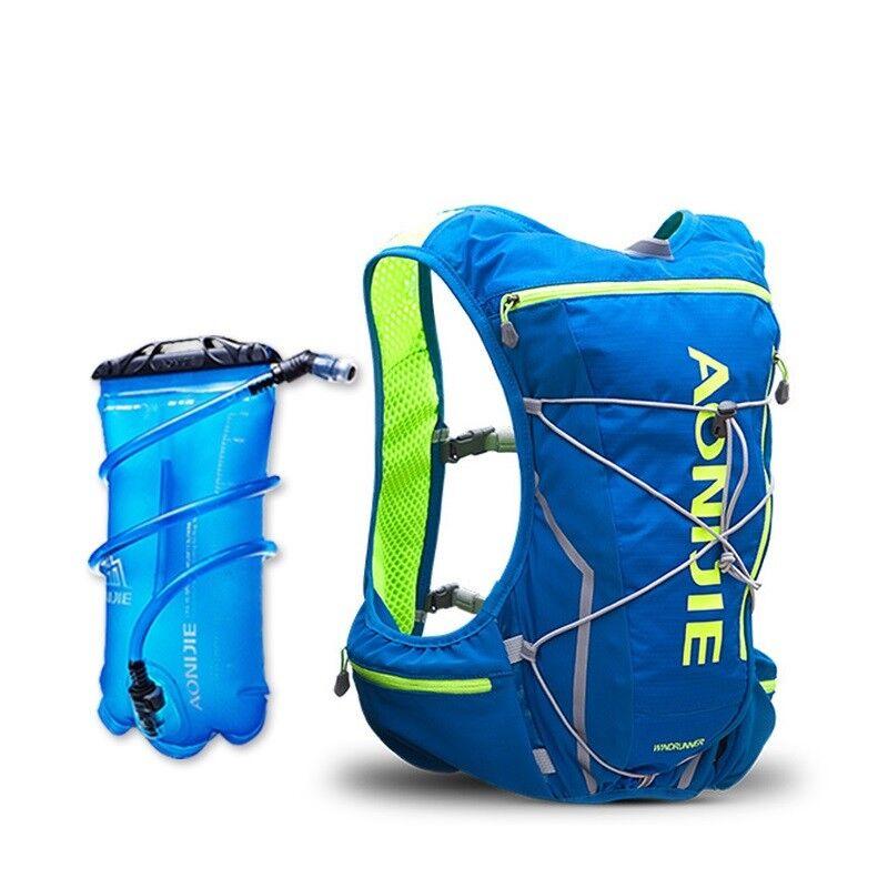 Details About Backpack Bag Running Water Vest Hydration Cycling Bladder 10l Pack Hiking Bottle
