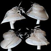 Gold Wedding Hat