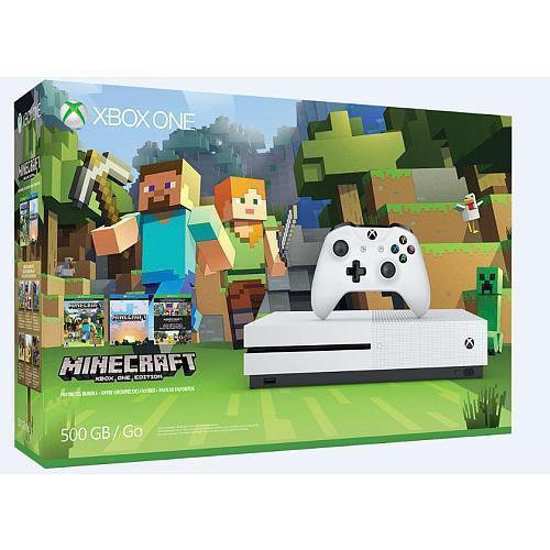 Xbox One S Minecraft Favorites 500GB Bundle