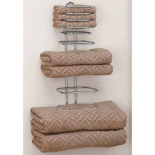 folding towel rack ebay. Black Bedroom Furniture Sets. Home Design Ideas