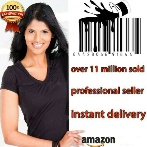 10 Compatible with UPC EAN Code Numbers Barcodes Bar Code for Amazon UK US EU