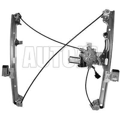 New Passengers Side Front Window Regulator w/ Motor