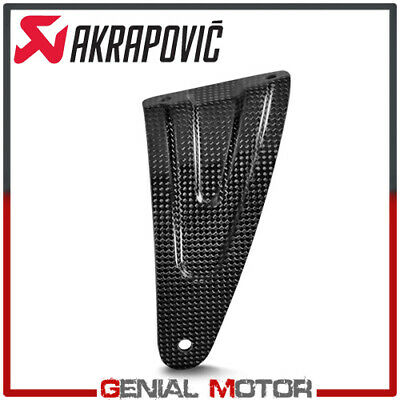 Akrapovic Exhaust Muffler Bracket (Carbon Exhaust Muffler Bracket Akrapovic for Aprilia Muffler RSV 4 TUONO)