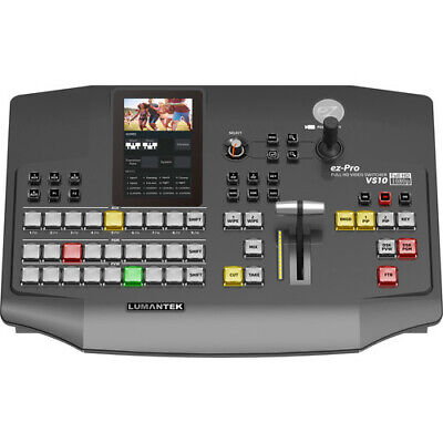 "Lumantek ez-Pro VS10 3G-SDI/HDMI Video Switcher with 5"" LED Touchscreen"