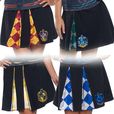 Harry Potter Skirt Ladies Fancy Dress Hogwarts Uniform Adults Book Day Costumes