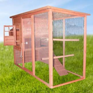 2.3M Weatherproof Chicken Coop Hen House Rabbit Hutch YQ8051L Dandenong South Greater Dandenong Preview
