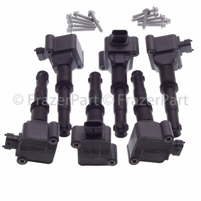 Porsche Coil pack x6 for 986 Boxster all 1997 02  99634L ignition coils