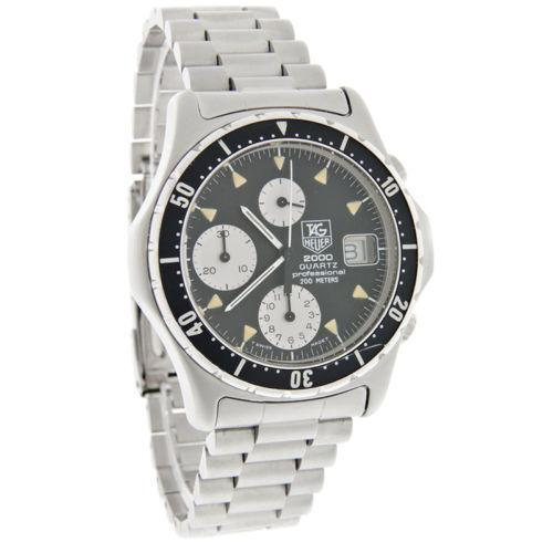 men s tag heuer watch new vintage mens tag heuer chronograph watch