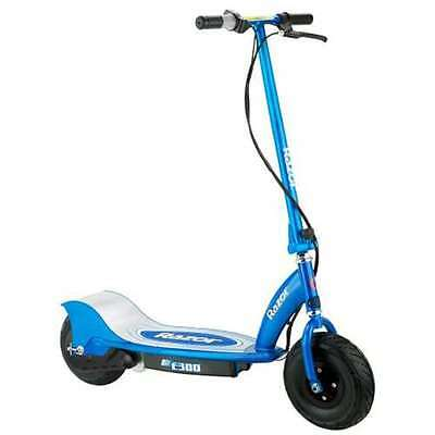 Razor E300 Electric Motorized Scooter - Blue (Lightly Used)