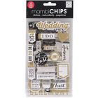 Me & My Big Ideas Gold Scrapbooking Stickers