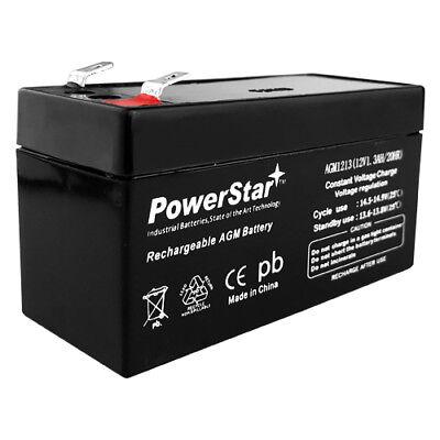 PowerStar 12V 1.3AH SLA AGM Battery replaces Interstate SLA1